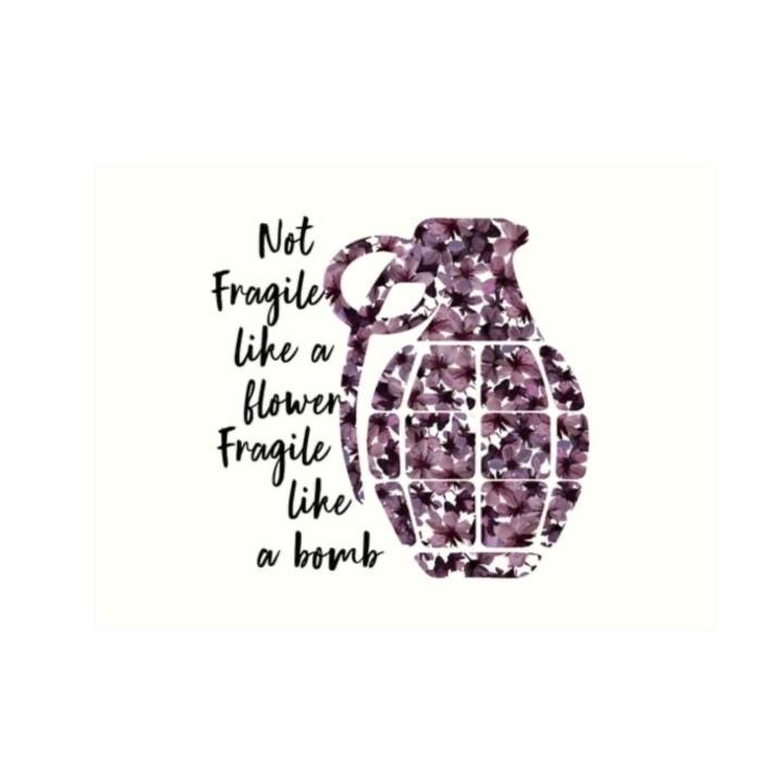 💣 Fragile; Like a Bomb💥